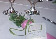 Blue Spruce Wedding Favor