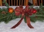 Balsam fir table runner