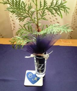 Single white cedar
