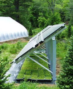 Solar array shade structure!
